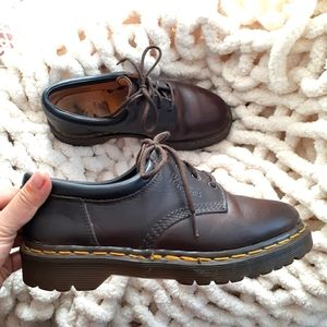 Dr. Martens brown crazy horse leather